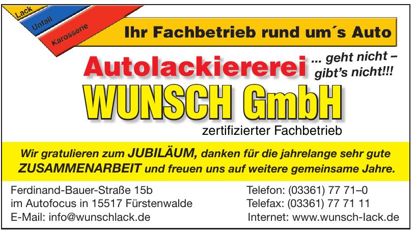 Autolackiererei Wunsch GmbH