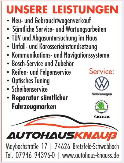 Autohaus Knauß