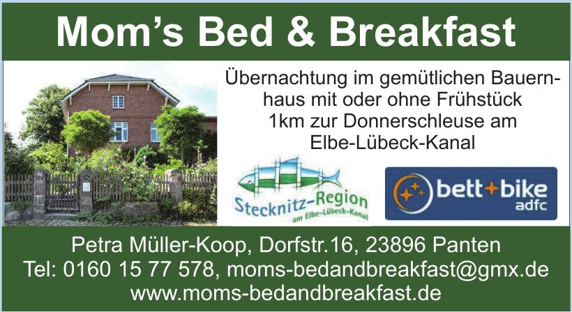 Mom's Bed & Breakfast