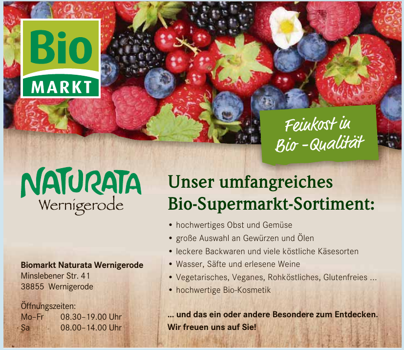 Biomarkt Naturata Wernigerode