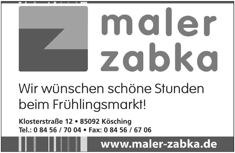 Maler Zabka