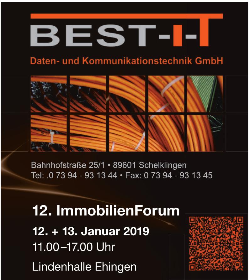 BEST-I-T Daten und Kommunikationstechnik GmbH