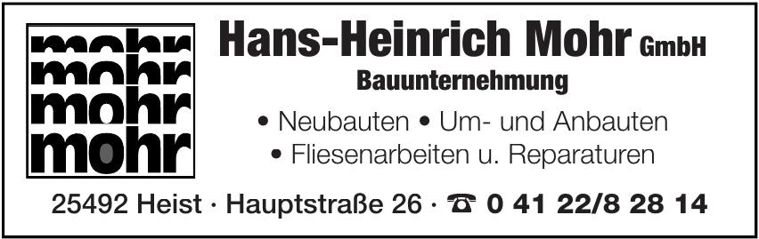 Hans-Heinrich Mohr GmbH Bauunternehmung