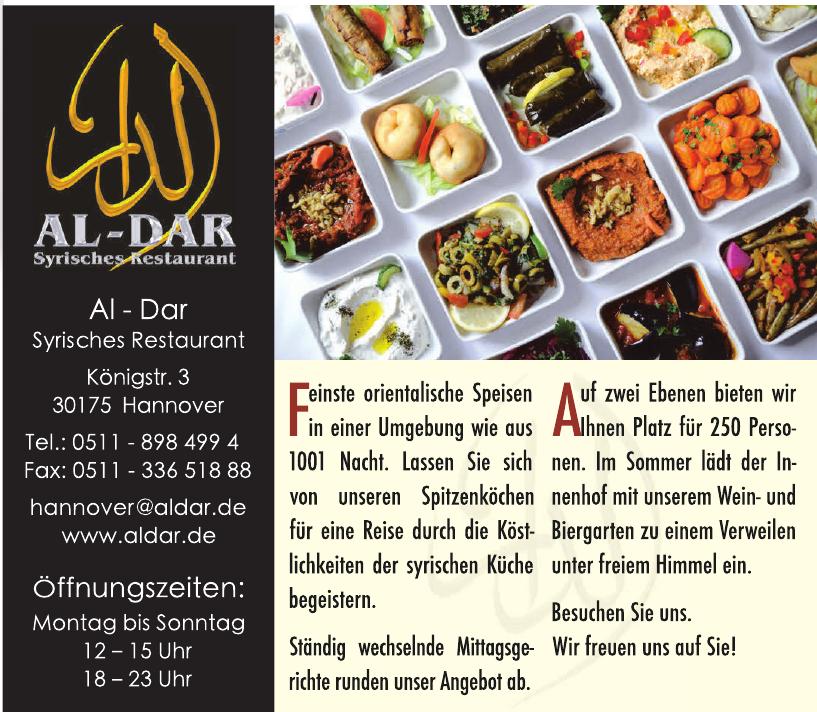 Al-Dar Syrisches Restaurant
