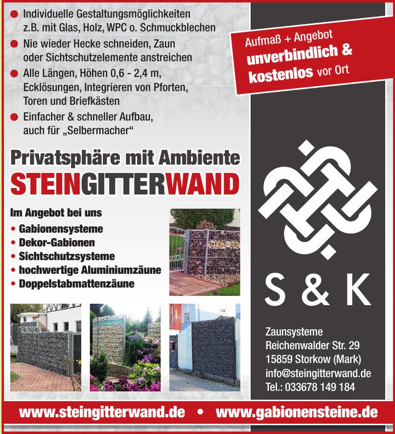 S&K Zaunsysteme