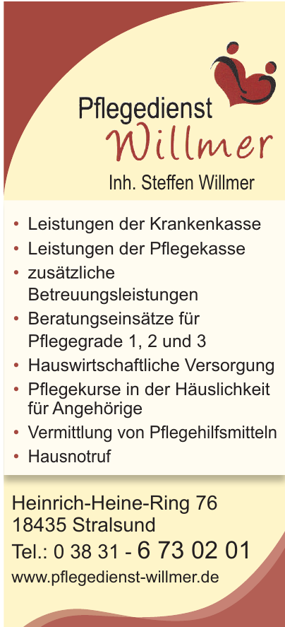 Pflegedienst Willmer