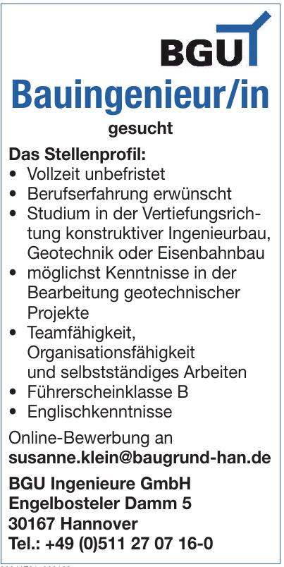 BGU Ingenieure GmbH