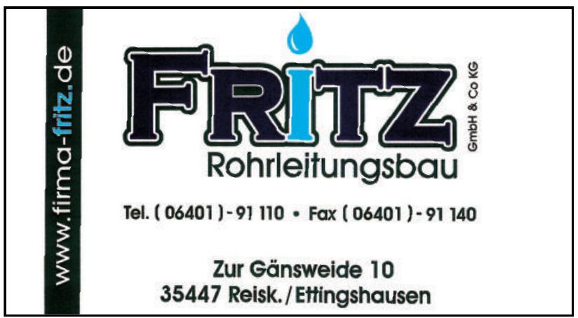 Fritz Rohrleitungsbau GmbH & Co. KG