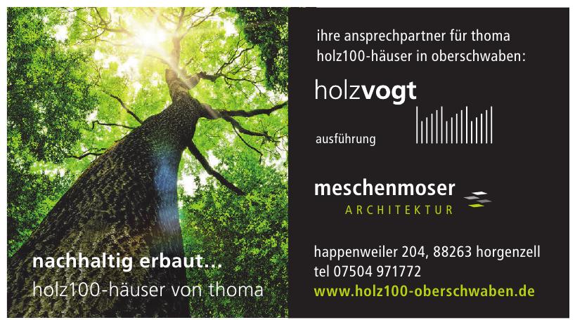 Holzvogt Meschenmoser Architektur