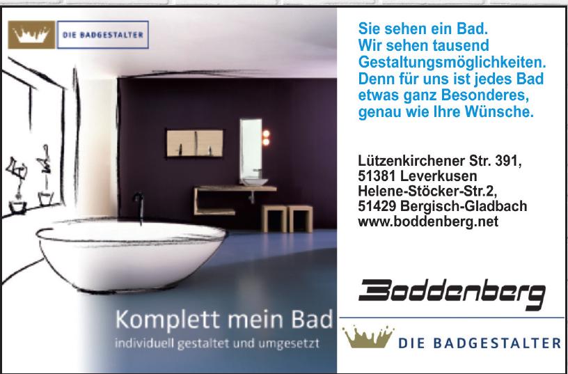 Boddenberg – Bad-Design und Heizungstechnik