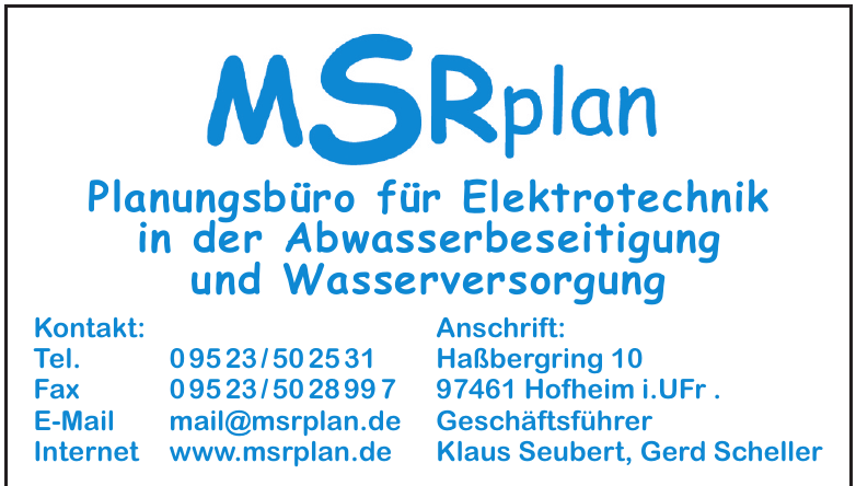 MSRplan