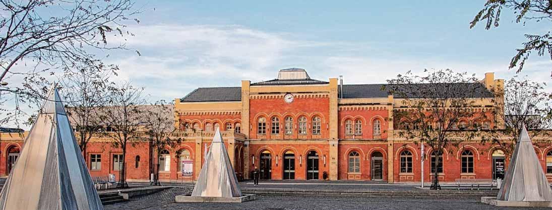 Der Bahnhof in Halberstadt. Foto: Gerald Eggert