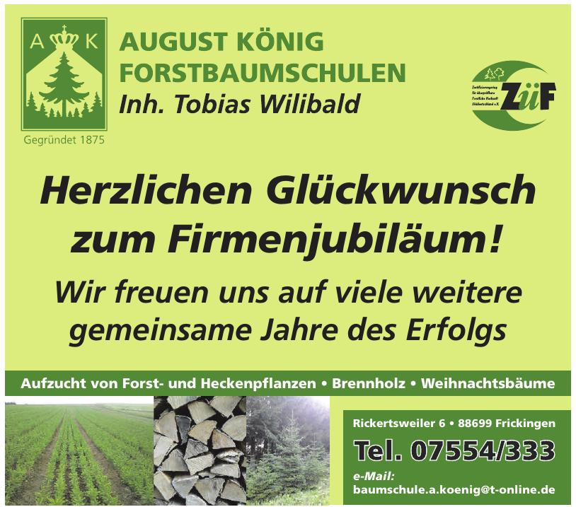 Forstbaumschule August König Inhaber Tobias Wilibald e.K.