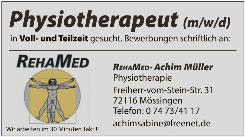REHAMED-Achim Müller Physiotherapie