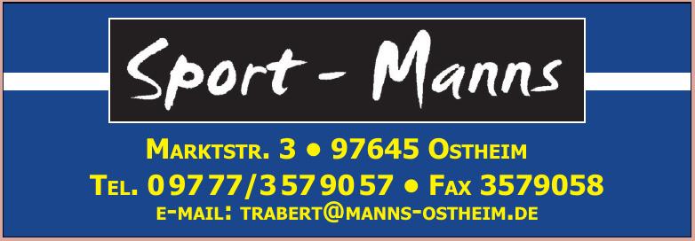 Sport - Manns