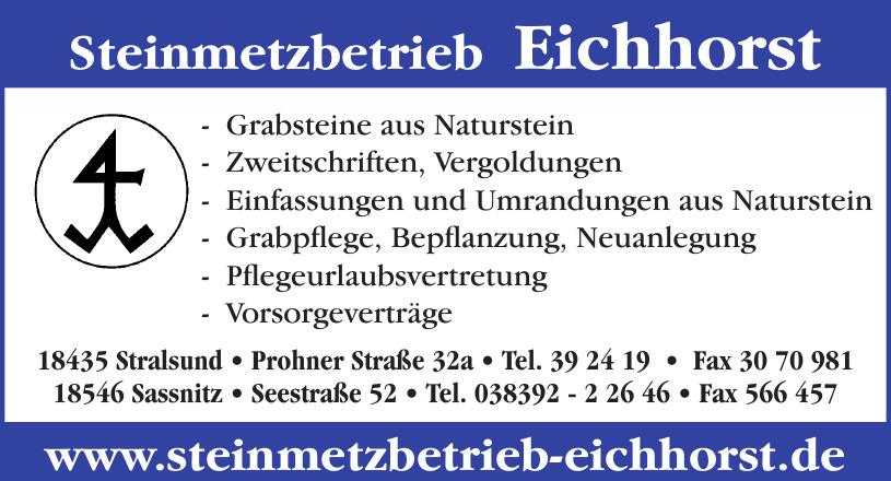 Steinmetzbetrieb Eichhorst