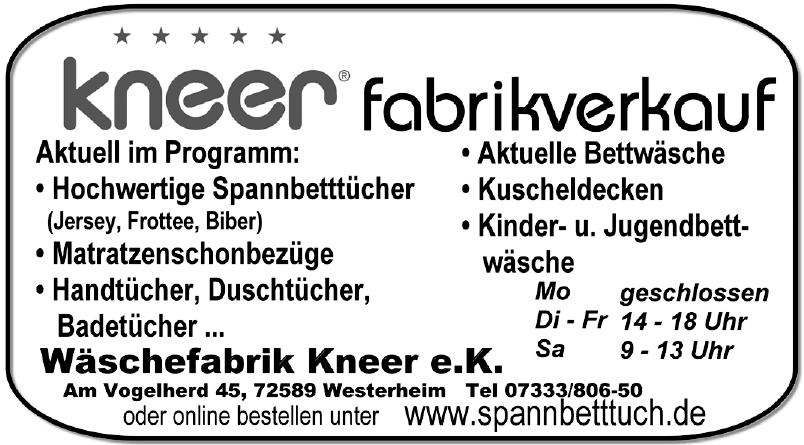 Wäschefabrik Kneer e. K.