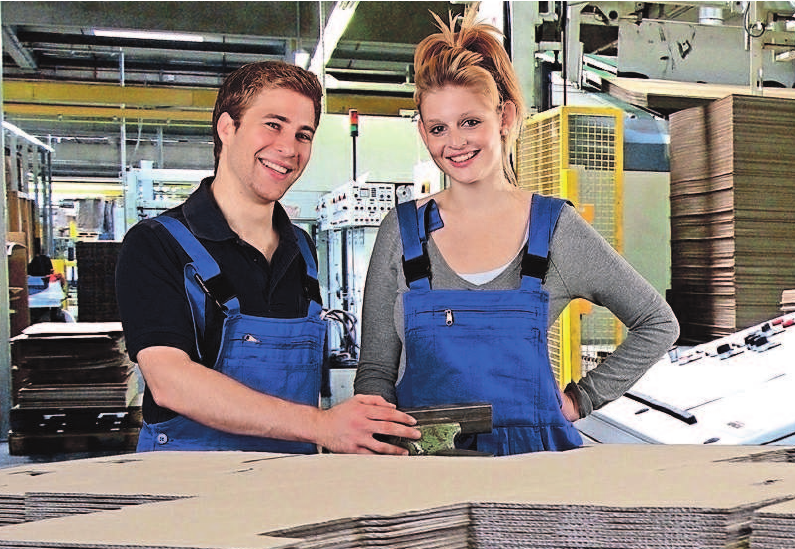 Karriere mit Zukunft in der Wellpappenindustrie.Foto: ehrenberg-bilder/fotolia.com/VDW/akz-o