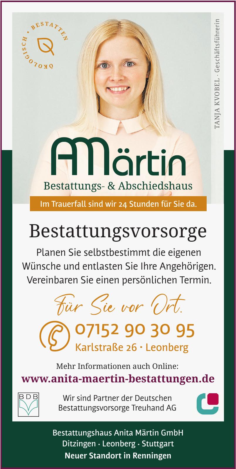 Bestattungshaus Anita Märtin GmbH