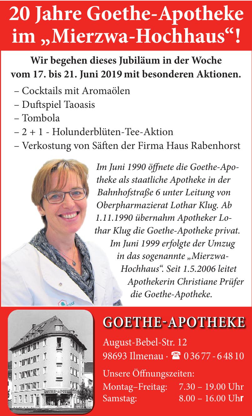 Goethe-Apotheke