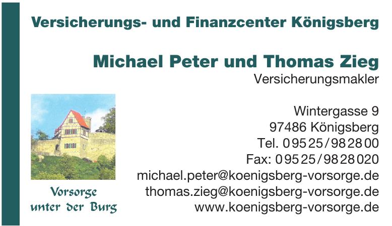 Michael Peter und Thomas Zieg Versicherungsmakler