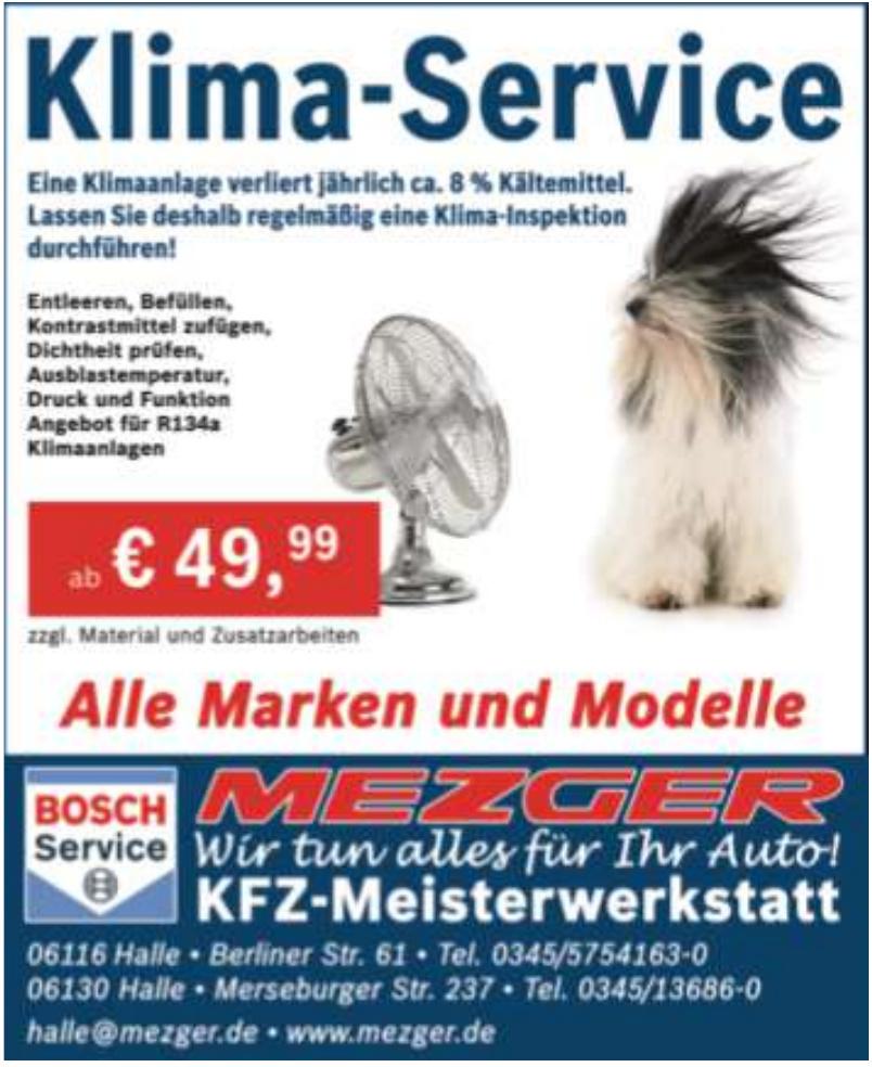 Bosch Service Mezger - KFZ-Meisterwerkstatt