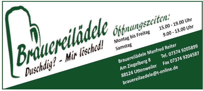 Brauereilädele Manfred Reiter