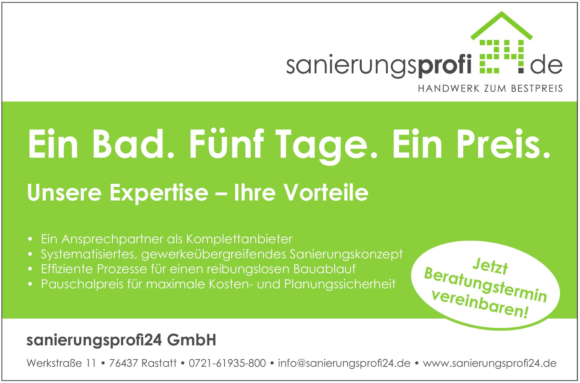 sanierungsprofi 24 GmbH