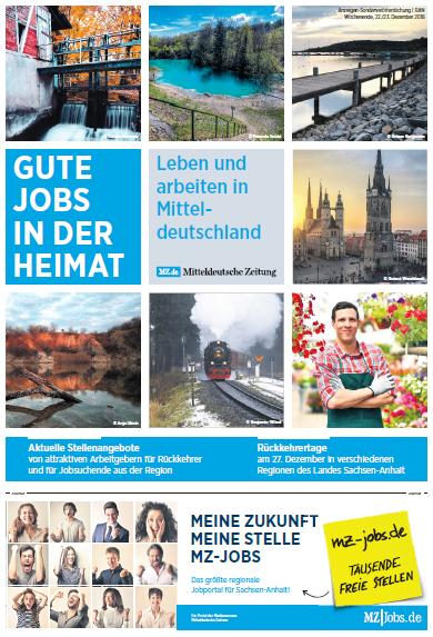 Gute Jobs in der Heimat - Köthen, Bitterfel, Dessau