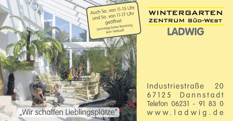 Wintergarten Zentrum Süd-West Ladwig
