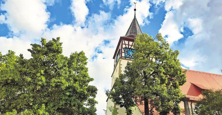 Historischer Kern: die Oswald-Kirche. Foto: z/Metsker