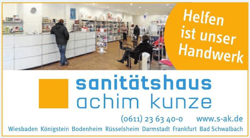 Sanitätshaus Achim Kunze