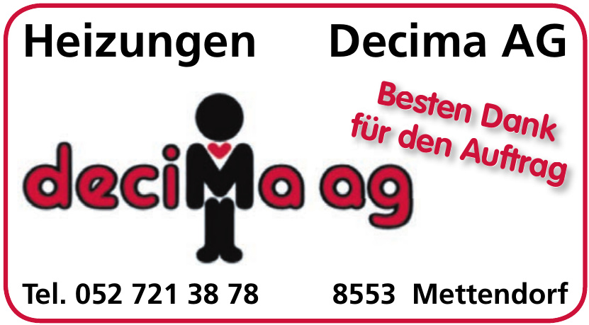 Heizungen Decima AG