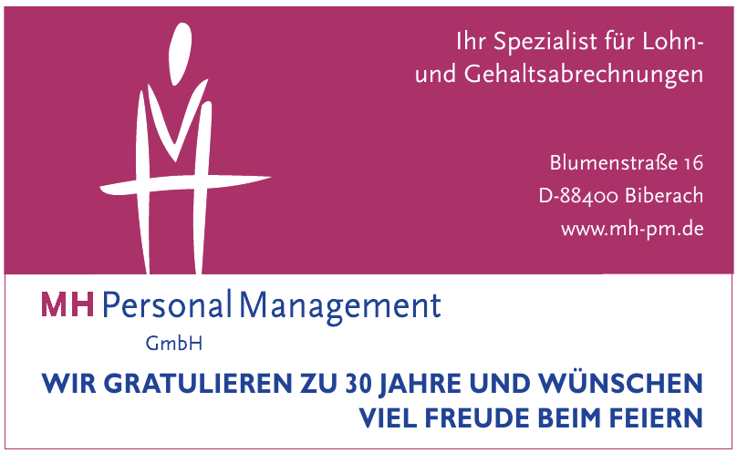 MH Personal Management GmbH