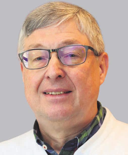 Prof. Dr. Rainer Schönweiler, Direktor der Klinik für Hals-, Nasen- und Ohrenheilkunde, UKSH Lübeck.
