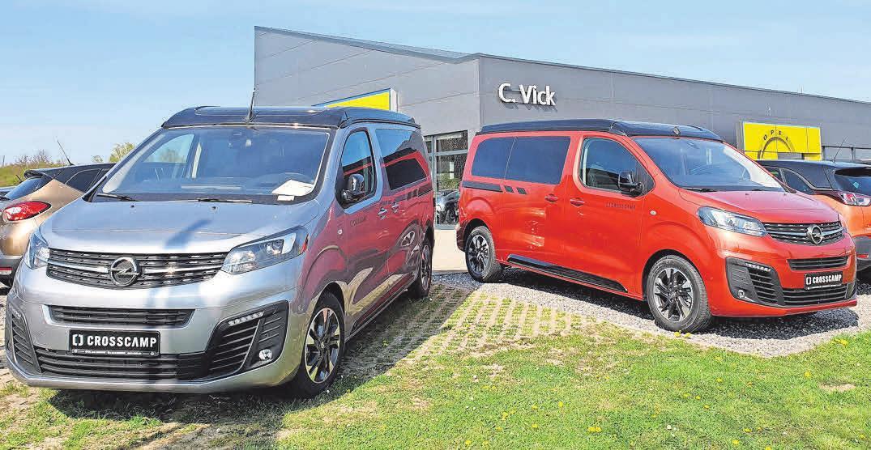 Crosscamp Lite und Flex sind die vielseitigen Allrounder der Opel-Familie.
