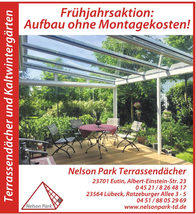 Nelson Park Terrassendächer