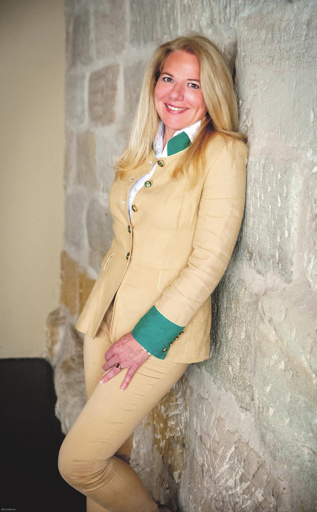 Fiona Freifrau Loeffelholz von Colberg (Foto Antje Wiech)