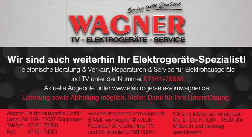 Wagner Elektrohausgeräte GmbH