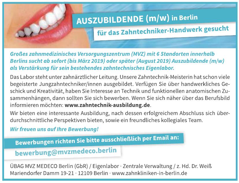 Zahnklinik MEDECO Berlin-Dahlem GmbH & Co.KG