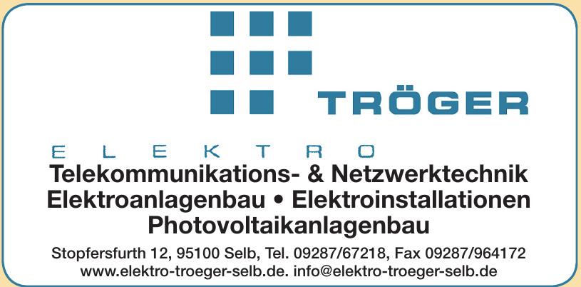 Elektro Tröger