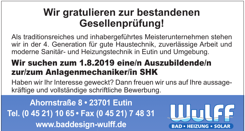 Wulff Baddesign