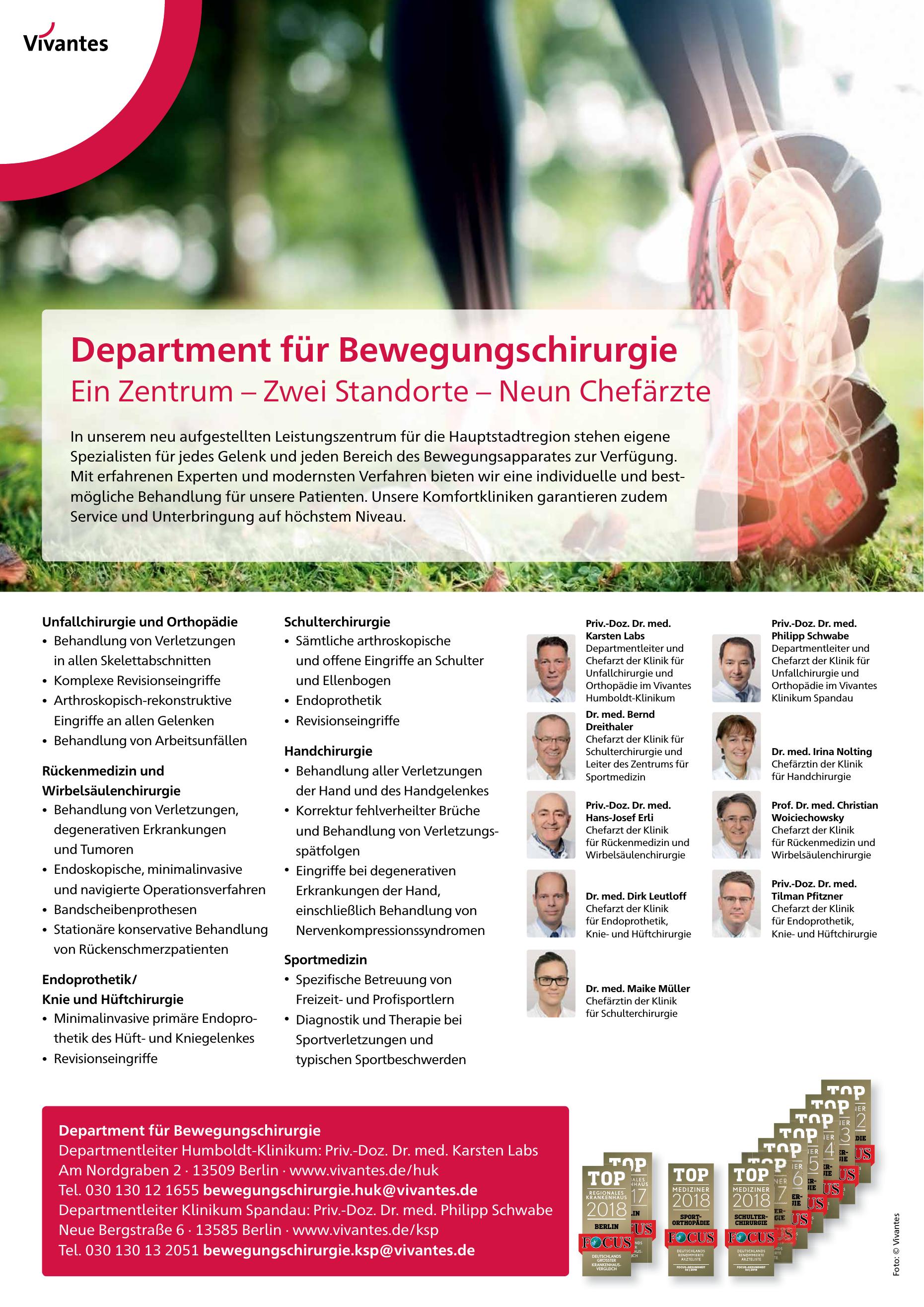 Vivantes – Netzwerk für Gesundheit GmbH