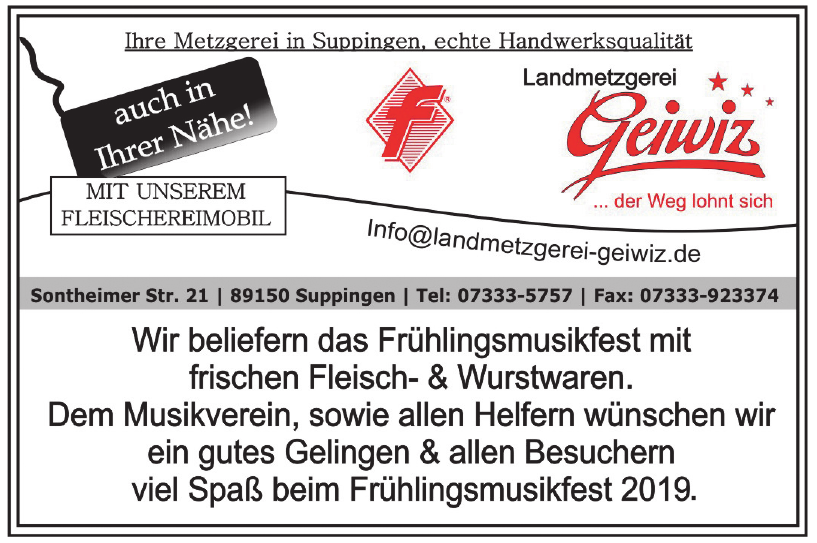 Landmetzgerei Geiwiz