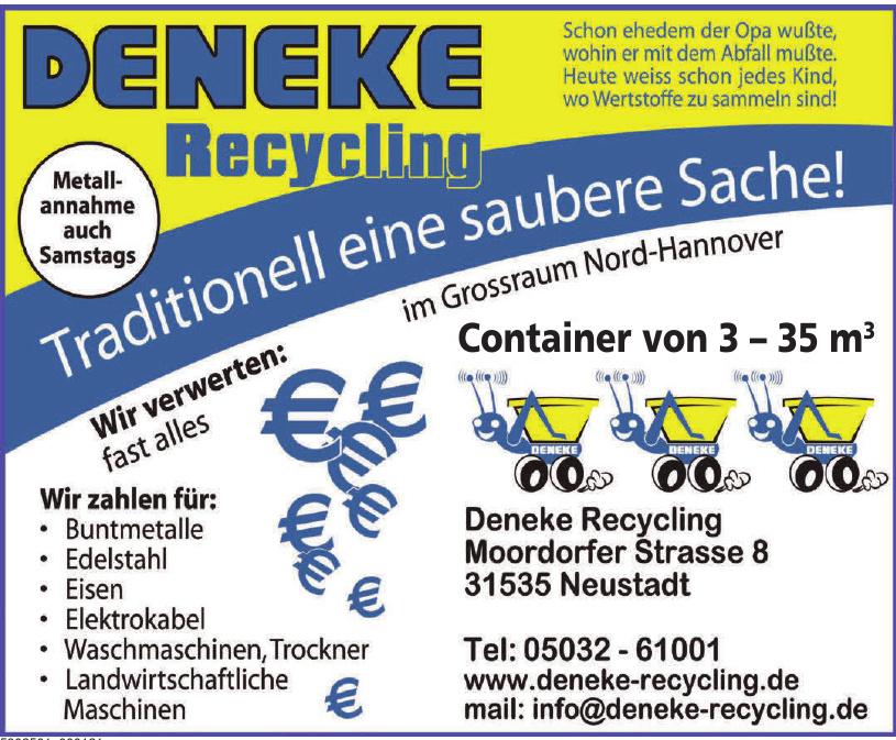 Deneke Recycling