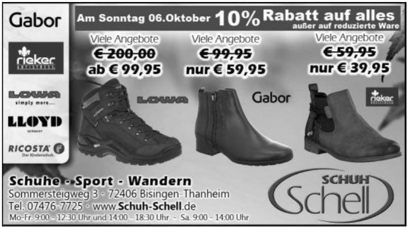 Schuh Schell