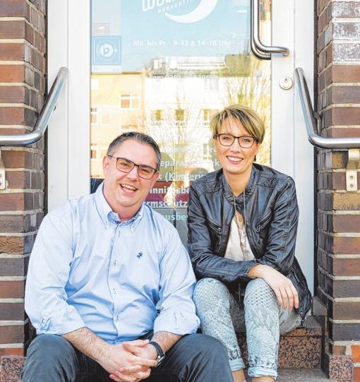 Ihre Hör-Experten: Ramona und Tobias Wockenfuß. F.: PRI.