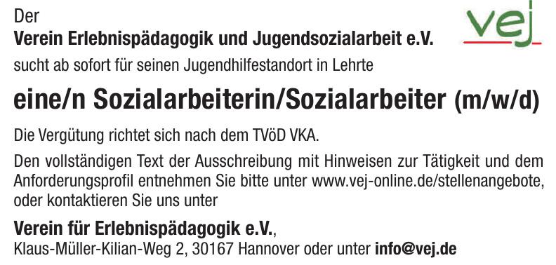 Verein Erlebnispädagogik und Jugendsozialarbeit e. V.