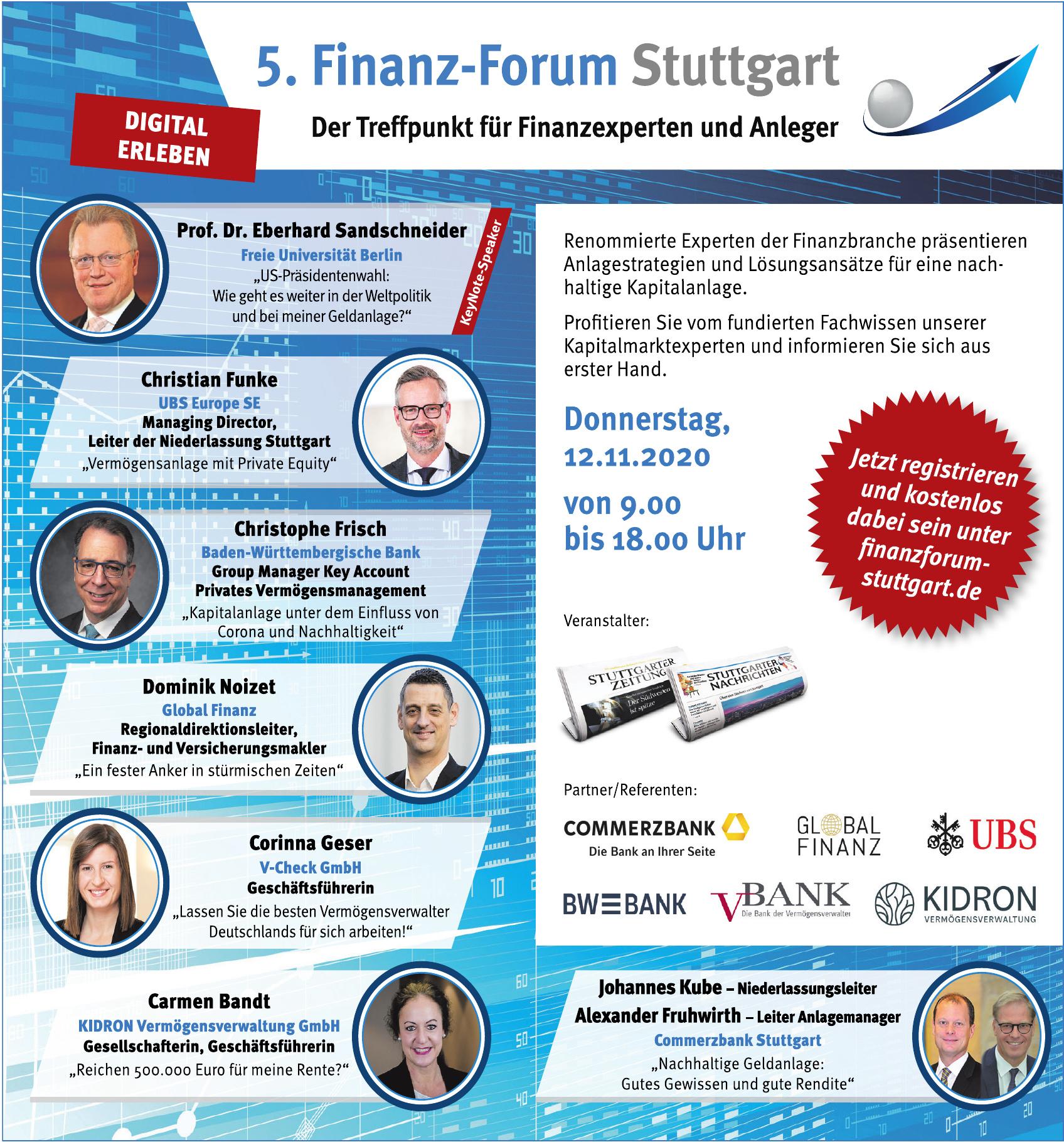 5. Finanz-Forum Stuttgart