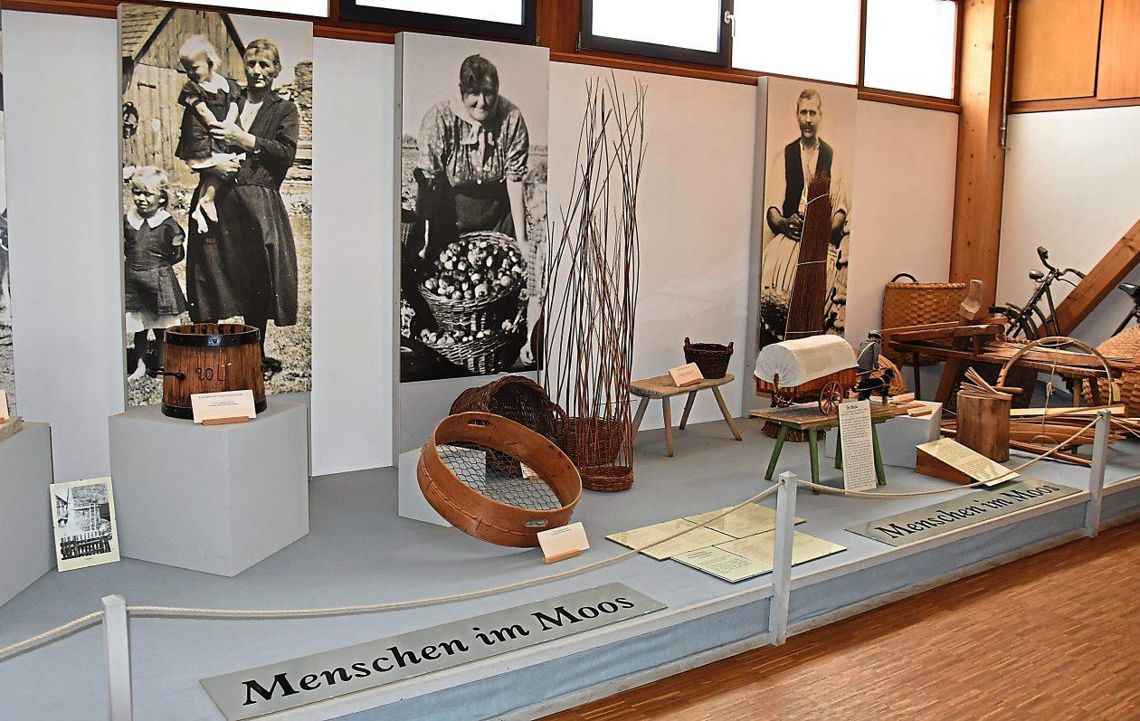 Als beliebtes Ausflugsziel gilt das Haus im Moos nahe Karlshuld mit seinem Heimatmuseum. Fotos: Wermter